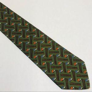 Brooks Brothers 100% Silk Baseball Tie